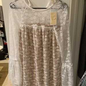 Brand new Michael Kors floral lace dress